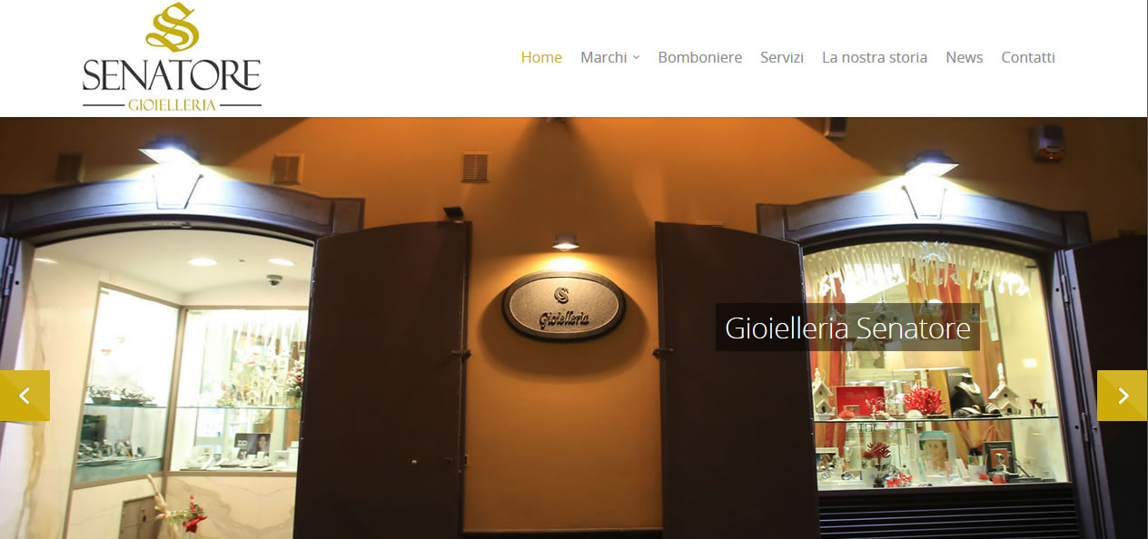 GioielleriaSenatore.it - Setteweb.it - Portfolio Web
