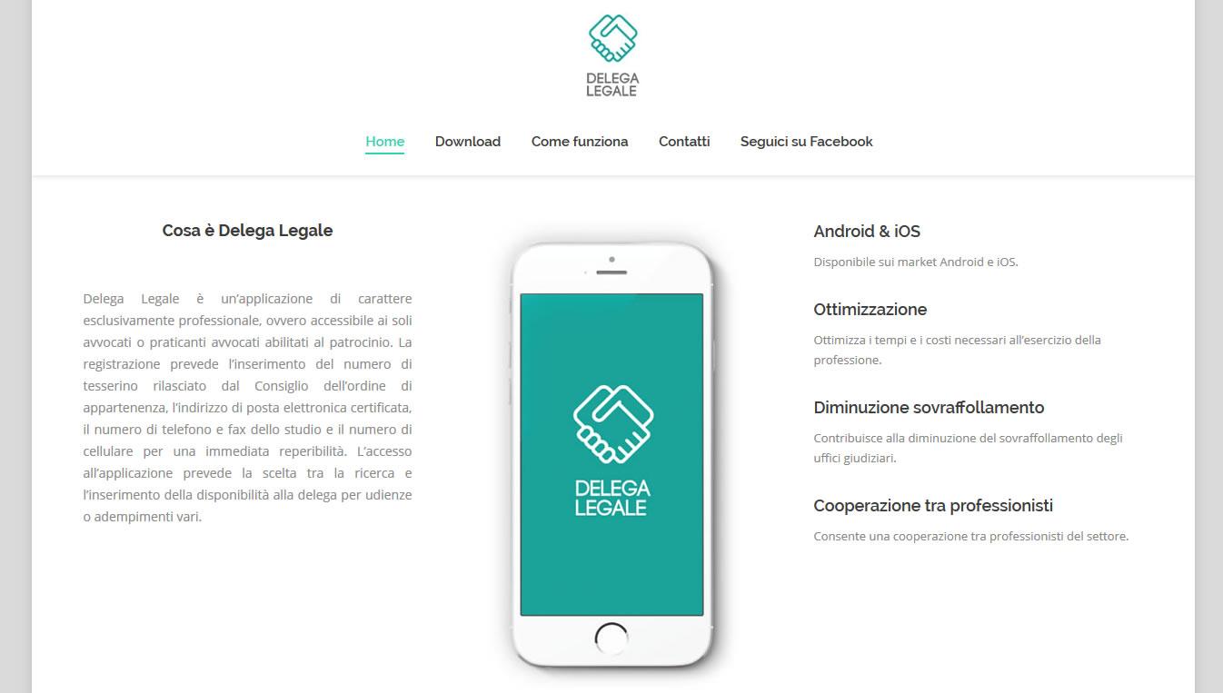 Delega Legale - Sito Web