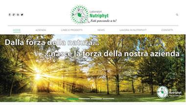 Laboratori Nutriphyt - Portfolio Web - 7Web - www.setteweb.it