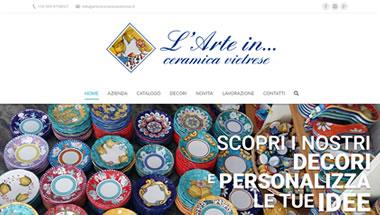 Arte in Ceramica Vietrese.it - Setteweb.it - Siti web - 7Web