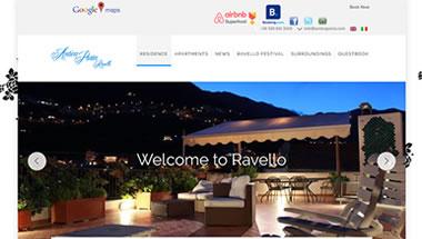 Anticaporta Ravello Residence - 7Web portfolio web - www.setteweb.it