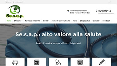 Sesap - Servizi alle farmacie - www.SetteWeb.it