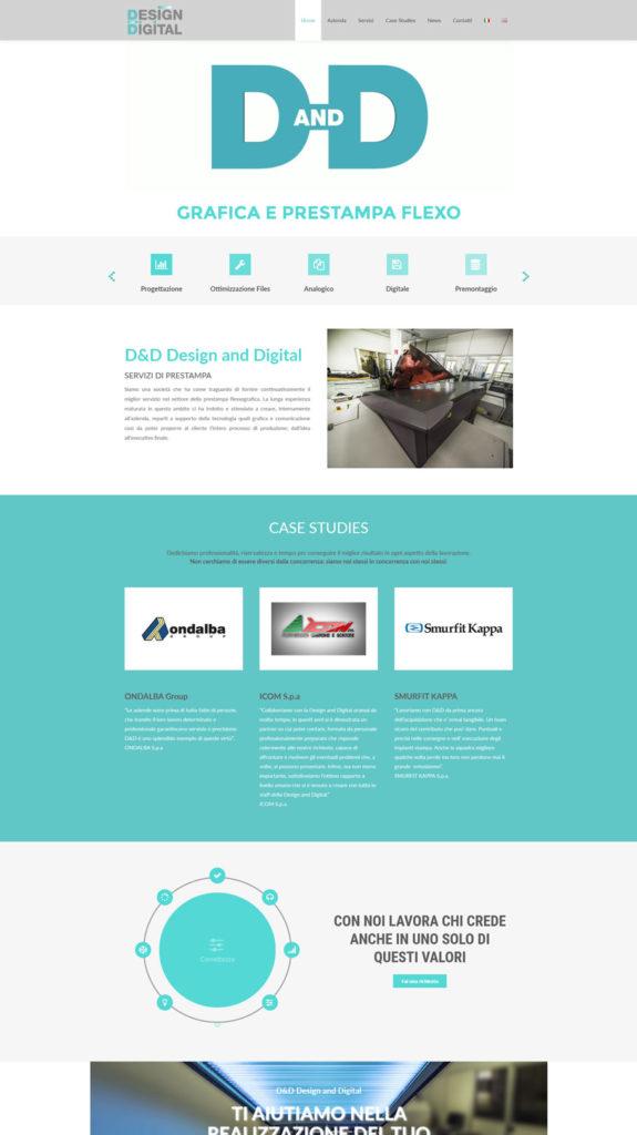 D&D - Design and Digital - Portfolio Web Setteweb.it 7Web - Siti Web Salerno