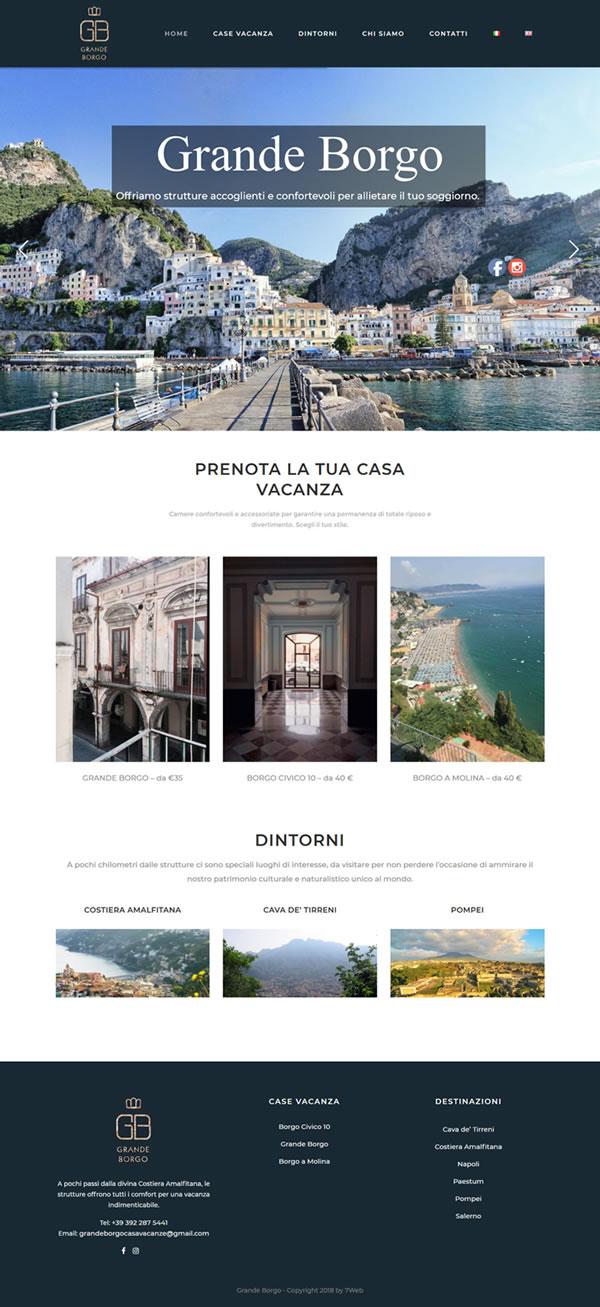 Grande Borgo Costa Amalfi - Prenota la tua casa vacanza
