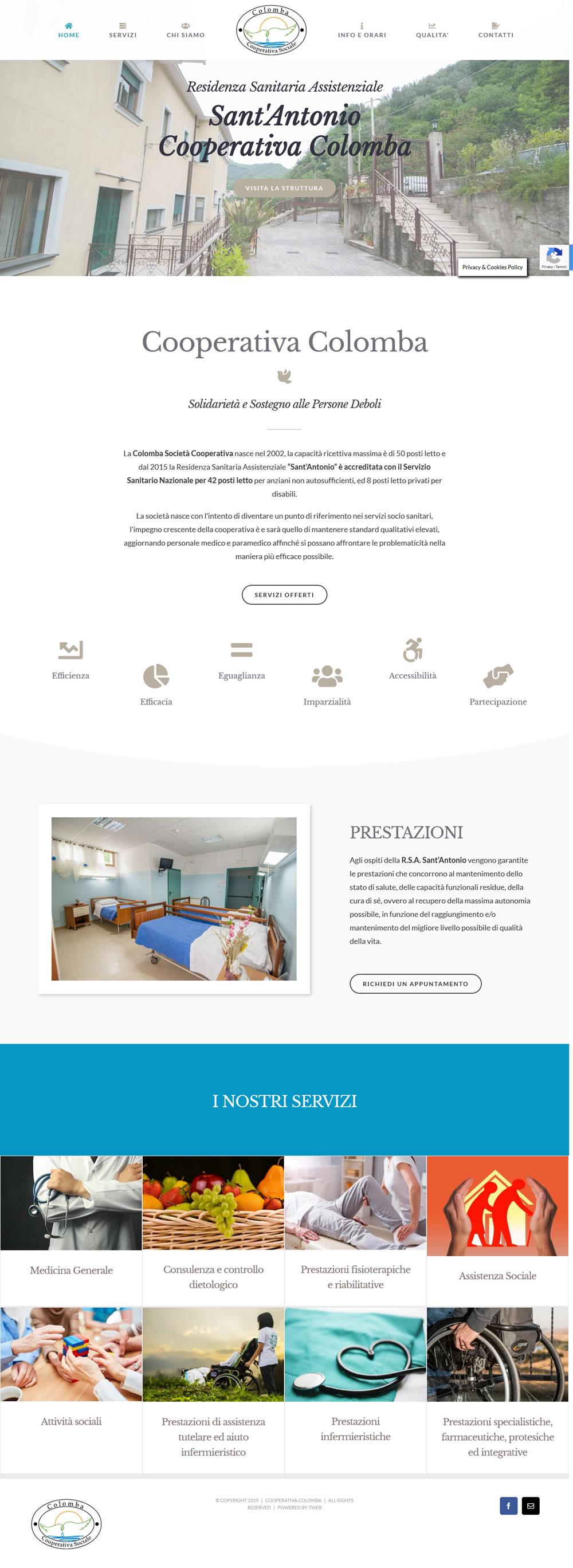 CoopColomba - Setteweb.it Portfolio Sito Web Wordpress 7Web-2019