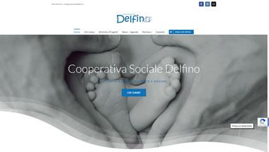 Cooperativa Sociale Delfino - Setteweb.it Portfolio Sito Web Wordpress 7Web-2019