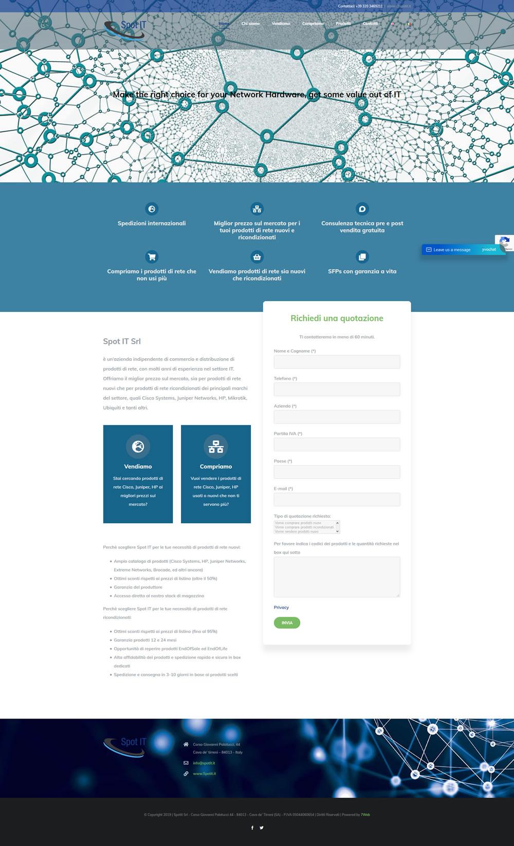 Spot IT - Setteweb.it Portfolio Sito Web WordPress 7Web-2019