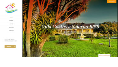 Villa Costiera Salerno BB - Setteweb.it Portfolio Sito Web Wordpress 7Web-2020