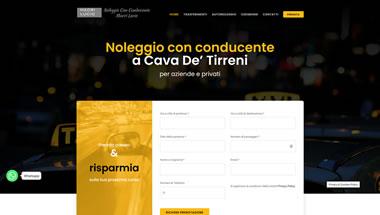 Taxi Cava - NCC a Cava de' Tirreni - Porfolio Siti Web prenotazione Taxi