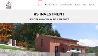 RS Investment - Sito Web Agenzia Immobiliare 2021